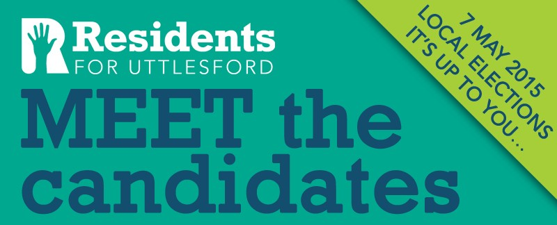 Banner: Event meet the candidates