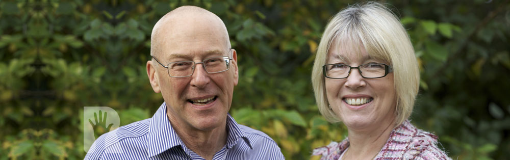 Banner: Neil Hargreaves and Joanna Parry