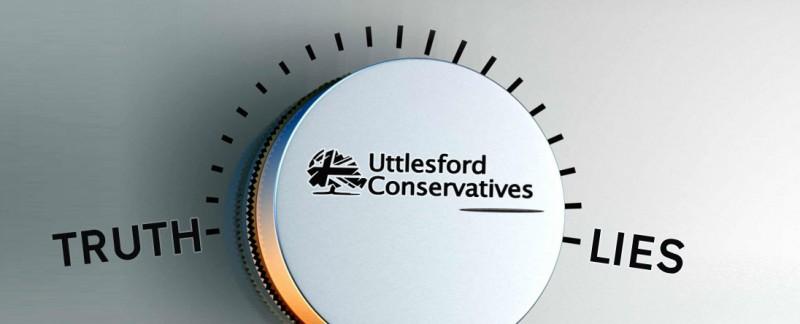 Banner: Uttlesford Conservative Lies (Tory)
