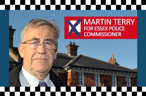 Feature Banner: Martin Terry for Essex Police and Crime Commissioner