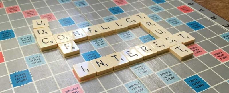 Banner: conflict of interest
