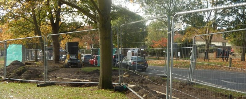 Work starts on new Saffron Walden Common path as next part of R4U programme to improve resident access and safety