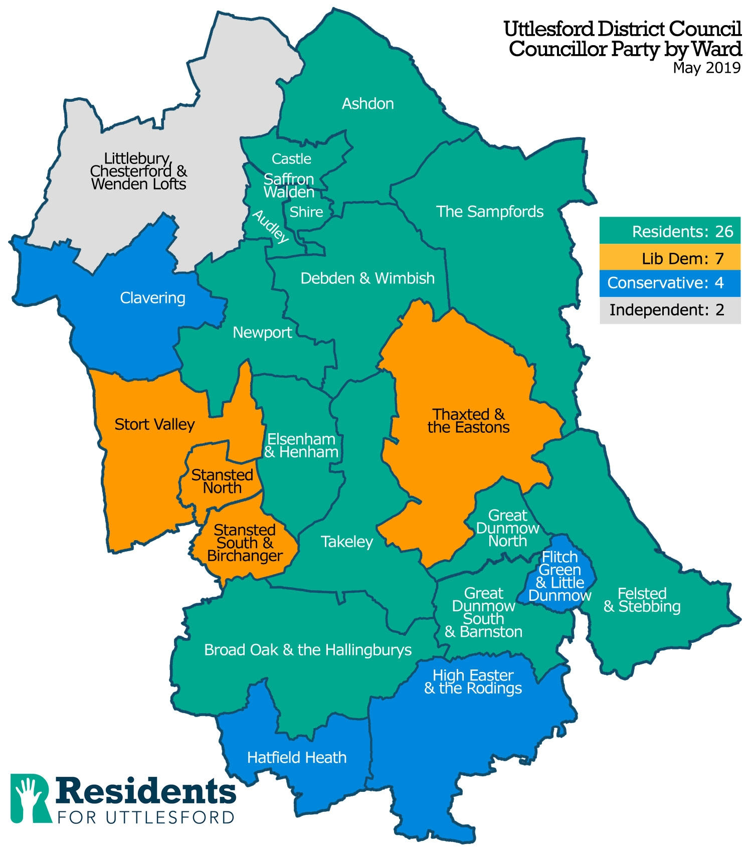 Picture of: Uttlesford District Wards Residents For Uttlesford