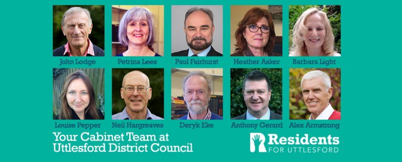 Residents for Uttlesford announce new 'Residents Administration' appointments at Uttlesford District Council