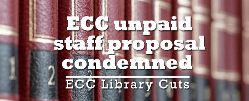 R4U and UDC condemn Essex County Council proposal not to pay library staff