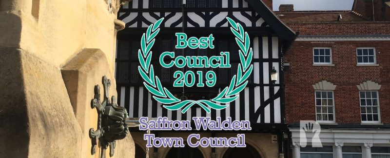 It's official: R4U-led Saffron Walden Town Council is now the best of 300 in Essex!