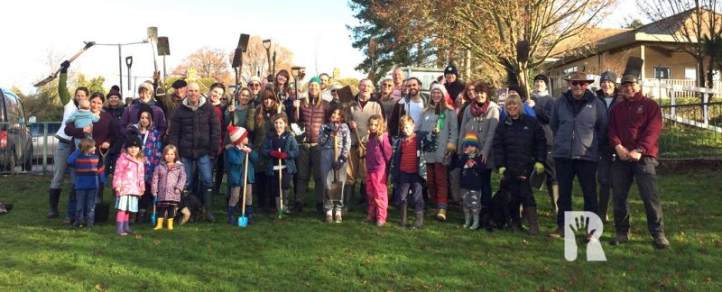 Picture Story: Saffron Walden residents 'dig in' to plant thousands of hedging plants and trees