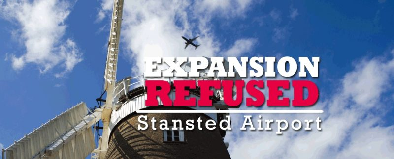 Stansted Airport expansion refused