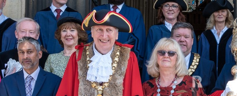 Saffron Walden Mayor Arthur Coote on volunteering, charity and social distancing