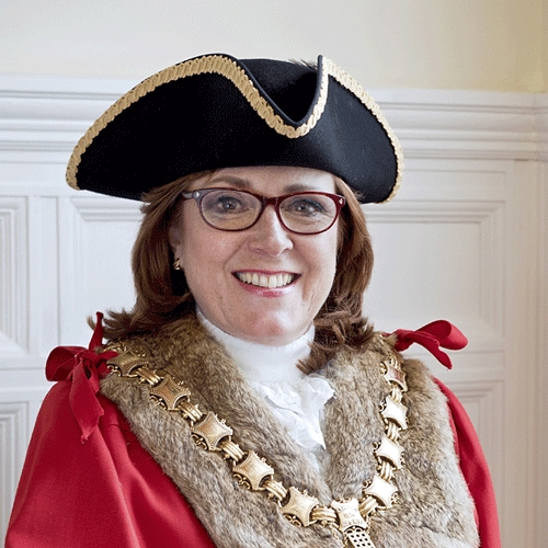 Saffron Walden Mayor Heather Asker (R4U)