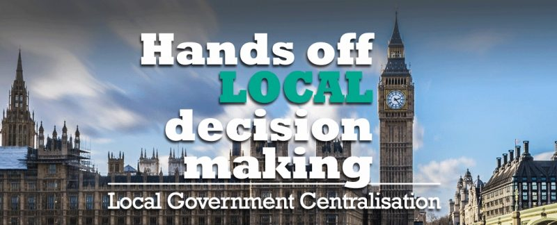 R4U opposes Conservative proposals to centralise local government and remove Uttlesford decision making