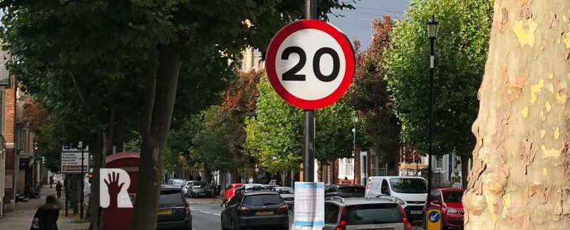 R4U welcomes new 20mph zone in Saffron Walden