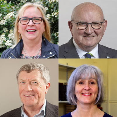 Cllrs Day, Freeman, Lees & Merifield for Sampfords Ward